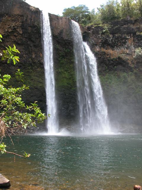 Waterfalls In Hawaii. Part of Hawaii, Kauai is a
